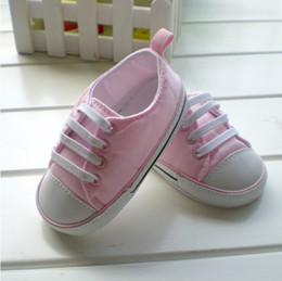 Wholesale Baby Girls Boys First Walkers Shoes Spring Autumn Cotton Fabric Prewalkers Infant Bebe Shoes For
