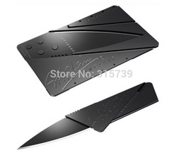 Wholesale Factory Price Sinclair Cardsharp Credit Card Knife Wallet Folding Safety Camping Pocket Hunting Knife piece J