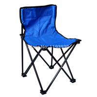 Camping Chairs Beach Chair Outdoor Furniture Wholesale-Brand New S M L Portable Folding Oxford Antiskid Fishing Chair Beach Stool Chair Portable Seat