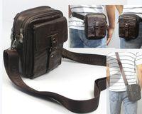 Cheap Shoulder Bags leather waist pack Best Men Plain small messenger bags
