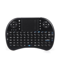 Wholesale Fly Air Mouse Rii Mini i8 GHz Wireless QWERTY Keyboard with Touchpad for PC PadNotebook Google Android TV Box Xbox360 PS3 HTPC IPTV