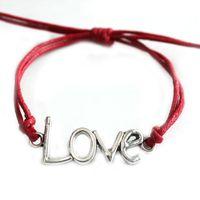 Wholesale 15Pcs Manufacturer Sale Vogue Sell Factory Price Handedly Fashion Simple Double Heart LOVE Turkey Eyes Woven Bracelet