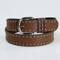 Wholesale new fashion cowhide carved strap genuine leather belt for women all match rhinestone belt color good quality