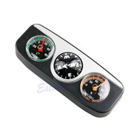 bingo auto compass thermometer - in1 Guide Ball Car Boat Vehicles Auto Navigation Compass Thermometer Hygrometer