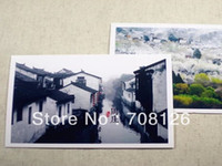 Wholesale China s most beautiful town postcards Chinese ancient architecture landscape greeting cards gift for friend