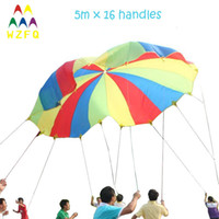 kids games and toys - M FT play parachutes with handles for kids games racing game school games and educational toy