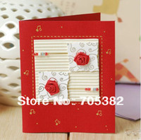 Wholesale x9cm Mini greeting card with envelope Gift box card Handmade card MIX COLORS SS