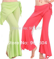 Women Cotton Pants 2014 NEW Fashion Womens Yoga Tribal Belly Dance Costume Fittness Sport Yoga Pants for Ladies Girls Trousers Pant