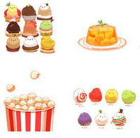 Wholesale NEW Cute Lovely Chicken Run Cartoon Hand Painting Greeting cards postcard gift cards Birthday Greeting Massage Cards
