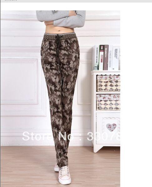 womens camouflage clothing plus size yoga pants sweat pants cheap womens workout clothes Size:S M L