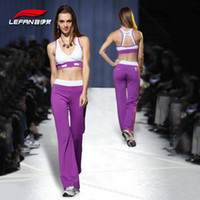 Wholesale Europe fashion lady fitness suit activewear workout training exercise wears gym wear sports bra long pants