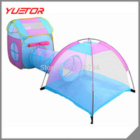 Tents Animes & Cartoons Polyester Wholesale-super quality 3-4 kids play house child tent for indoor & outdoor Free Shipping