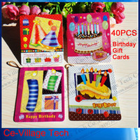 Wholesale Cheap Gift Best Wish Tree Birthday Celebrate Greeting Postcards Gift Cards