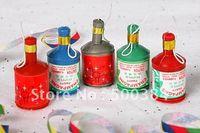 Wholesale party popper confetti streamer cm christmas new year birthday wedding entertainment