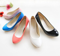 Wholesale Ladies Fashion Shoes Casual Synthetic Leather Pointed Toes High Heels Women s Pumps Size US EU s008
