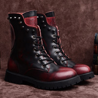 Wholesale 2014 new autumn and winter influx of European and American women s boots leather boots skull Wenzhou shoes boots Martin boots women s single