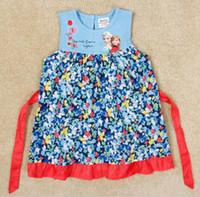 Cheap TuTu baby girls dress Best Summer Pleated frozen dress