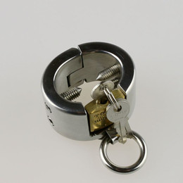 Wholesale Stainless Steel Kalis Teeth Spiked Male Chastity Device Sex Products
