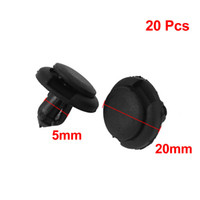 Wholesale 20 mm Hole Plastic Push Screw Rivet Fairing Panel Fixings Clips