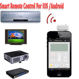 Wholesale Universal mm headphone jack Super Mini Smart IR Remote Control Support IOS Android Phone For TV Air Conditioning STB Camera