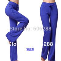 Wholesale Women Soft Comfy Yoga Sweat Lounge Gym Sports Athletic Pants Wide Leg Pants Modal fabric colors choose S XXXL