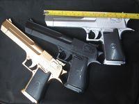 Plastic pistol - Desert Eagle Infrared laser nerf gun plastic toy gun blaster pneumatic gun pistola de pressao airsoft pistol slugterra toys guns