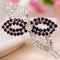 Hairpins Middle Eastern Women's 2014 new Fair maiden style Women Girl Fashion Chic flowers Crystal Hair Clip Bang Clip Hairpin