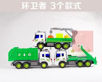 Wholesale Hot Big Size Simulation Sanitation Inertial car Diecast Cars Model Vehicle stlyles pac freeshipping