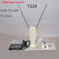 Digital Geniatech Yes Wholesale-Geniatech DVB-T2 USB TV Stick T220 Freeview Reecord HD dual channel sound DVB-T2 T C
