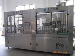 Wholesale Supply automatic washing filling and sealing machine triple bodyCH