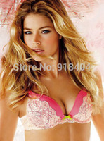 Wholesale cup C VS Bra and Panty Set lace lingerie push up bra fashion style brassiere sexy bra set hot cup C32