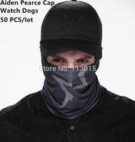 Wholesale UBI Watch Dogs Aiden Pearce Cap Hat Adjustable High Quality Cotton cosplay By DHL