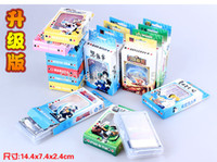 Wholesale 100 Packs anime Attack on Titan FAIRY TAIL One Piece Bleach Poker Dota LOL game cards by DHL
