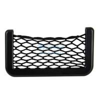 Visor CD Case ABS New#3_A Wholesale-Cheap Automotive Mobile Phone Net Bag with Adhesive Visor Car Organizer Pockets Net B11 10710