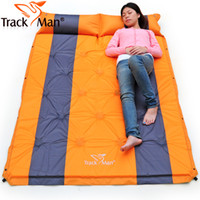 Two Seat air mattress - Trackman outdoors air mattress Broadened thickening inflatable bed Automatic moisture proof pad mat