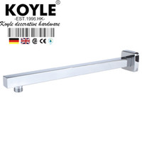 Wholesale KOYLE Square In Wall Mounted Shower Arm Bathroom Faucet Accessories shower shower head ducha acessorios para banheiro
