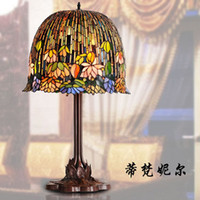 Wholesale Nell lamps living room lamps study lamp antique furniture and old wisteria garden lighting fixtures