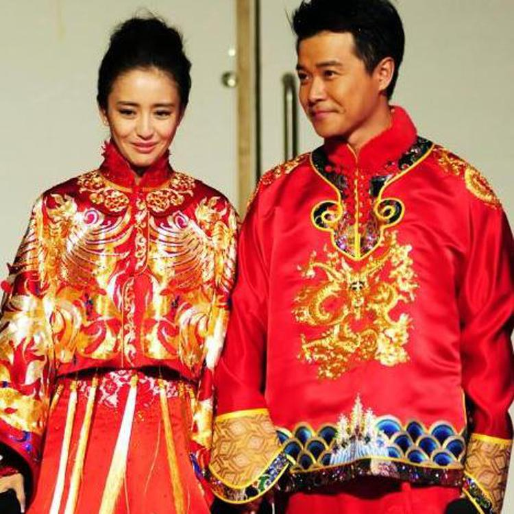 2017 Tong Li Ya Xiu Same Paragraph Chinese Wedding Clothes ...