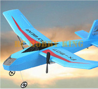 toy glider airplane - Electronic G CH EPP Material RC Airplane Model Remote Control Glider Plane Toy Aircraft Blue White Rose