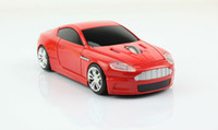 Wholesale Cordless GHz D DPI Sport Aston Martin Car Shape Usb Optical Wireless Gaming Mouse Any Colors