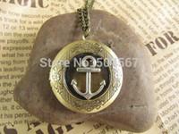 achat en gros de collier ancre antique-ancre Pirates Antique collier pendentif bijoux Style cadeau Vintage