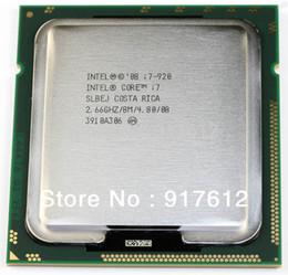Livraison gratuite origine Intel Core i7-920 processeur 2,66 GHz 8 Mo Cache Socket LGA1366 45nm 130W i7 920 64 bits processeur de l'ordinateur