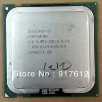 Wholesale Intel Pentium Prescott GHz LGA Single Core Processor M Cache MHZ FSB P4 computer CPU W bit nm