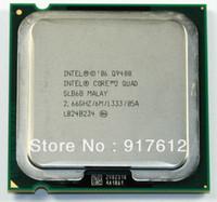 Wholesale Original INTEL Core Quad Q9400 Processor GHz M Cache FSB LGA775 nm W bit Quad Core computer CPU