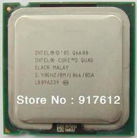Wholesale INTEL Core Quad Q6600 Processor GHz Cache M FSB LGA775 nm W Quad Core computer CPU
