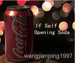 Wholesale Self Opening Soda Can by Ziv download close up magic teaching send by email accept paypal