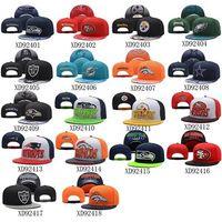 Wholesale Football Team Caps Cheap Sports Snapbacks Brand Men Caps Fashion Women Hats Cool Team Snapback Hats Hot Sale Adjustable Hats Flat Caps