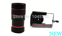 new Zoom Len 847# Universal Holder 8 x Zoom Optical Lens Mobile Phone Telescope Camera 2nd + a Free Drop Shipping