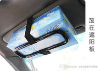Wholesale Trainborn sun shading board tissue box holder car tissue box chair back clip car tissue box frame