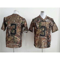 camo football jerseys - Real Tree Camo American Football Jerseys Size In Stock Mens Jersey Name Number Sewn On Best Sports Jersey for Sale